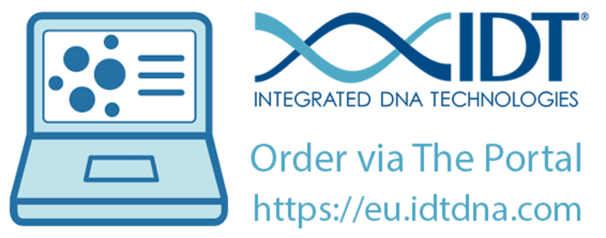 Order DNA, RNA, qPCR, CRISPR-Cas9, NGS and synthetic genes via the IDT portal