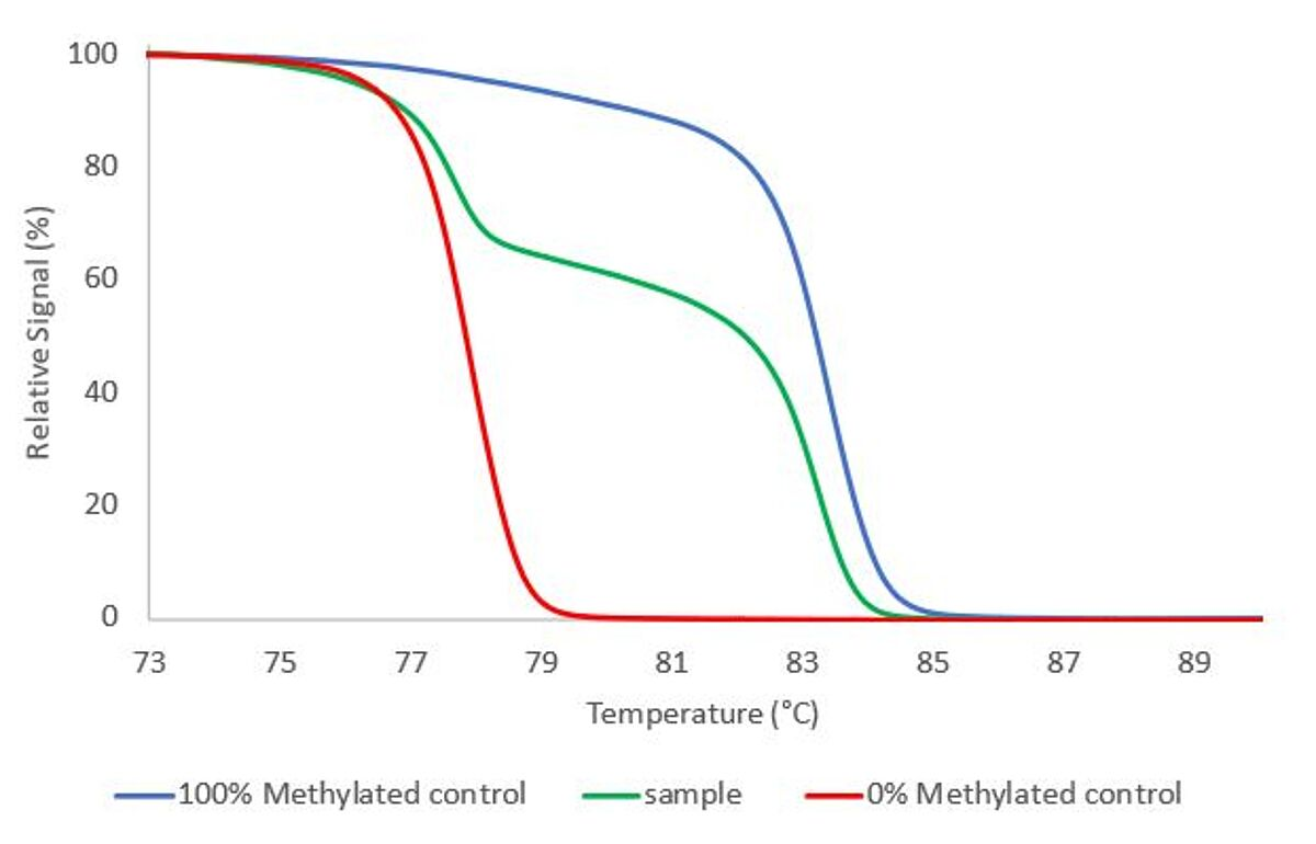 Methylation assay for MS-HRM by MethylDetect
