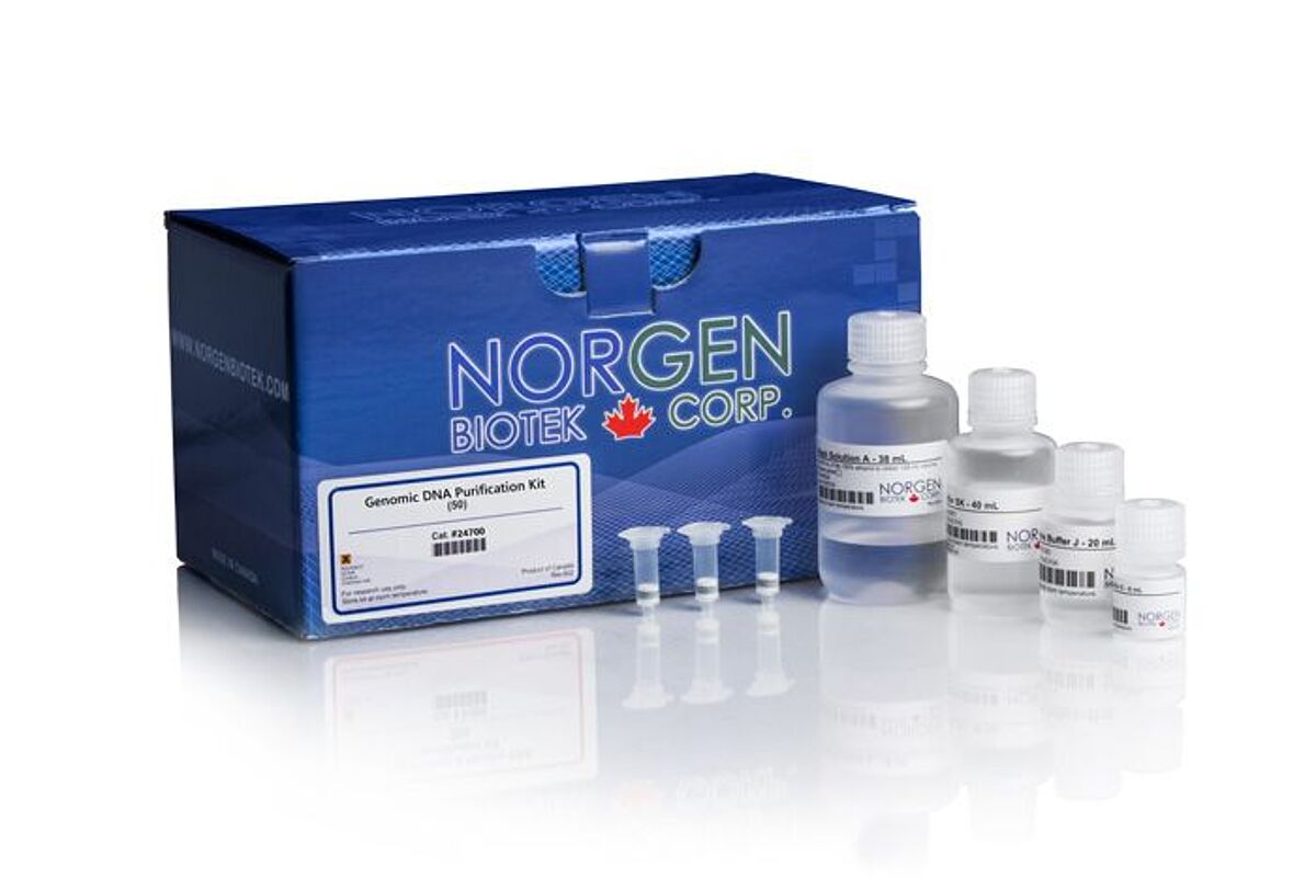 Norgen DNA purification kit image