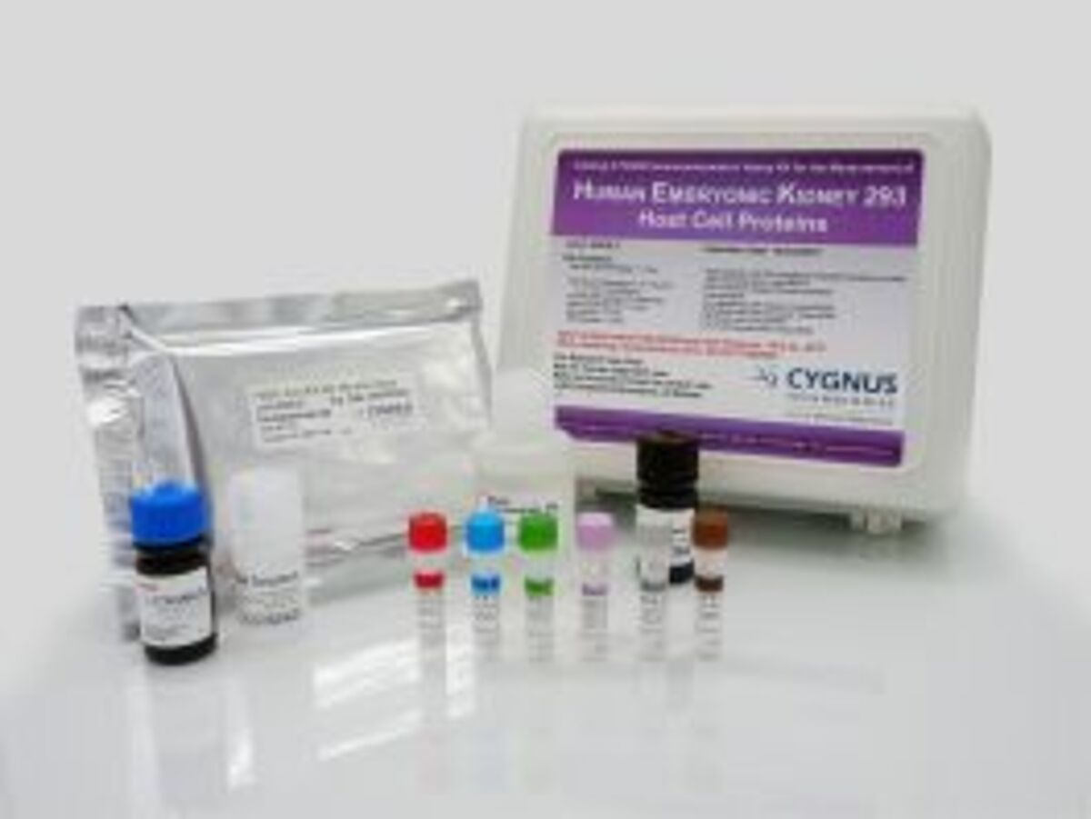 Image of HEK HCP ELISA kit by Cygnus